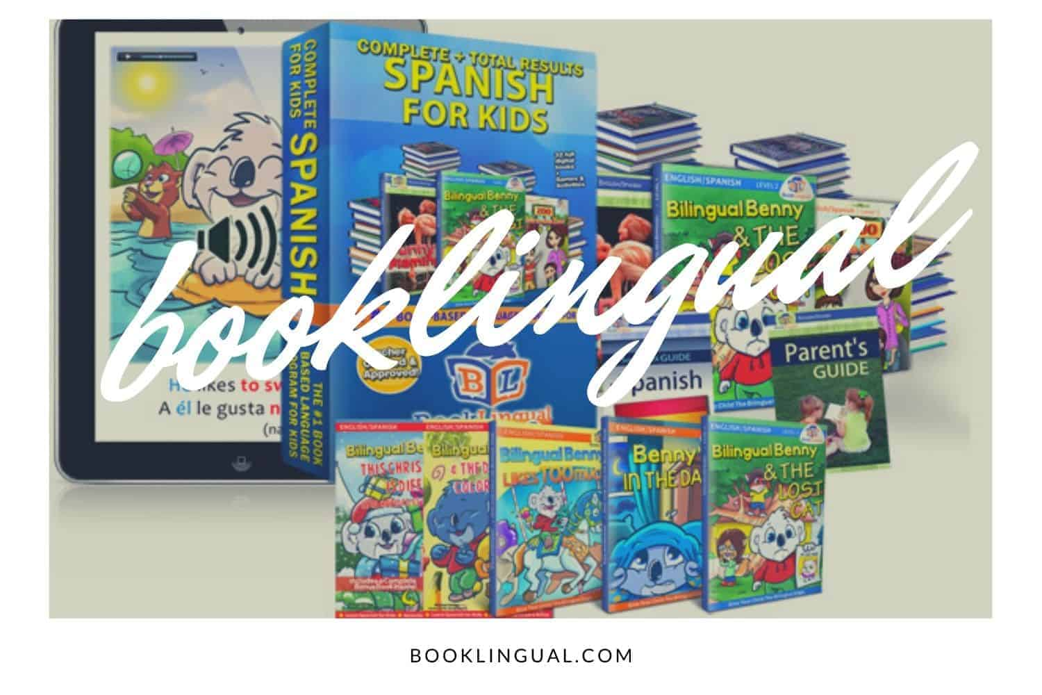 BookLingual: Complete Spanish for Kids Learning Set
