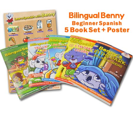 bilingual benny 5 book set