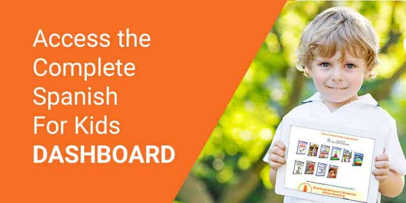 COMPLETE Spanish For Kids Dashboard